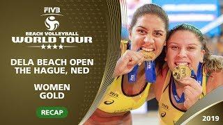 Recap - Women's Final: USA vs BRA   4* The Hague (NED) - 2019 FIVB Beach Volleyball World Tour