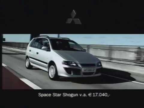 mitsubishi space star ad 2002 —