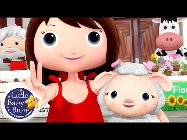 Mary Had A Little Lamb - Part 3 | Nursery Rhymes for Babies | Songs For Kids | Little Baby Bum