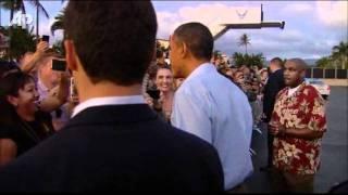 Raw Video: Obama Starts Delayed Hawaii Vacation