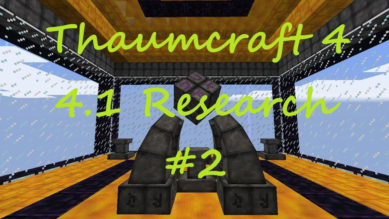 Thaumcraft 4.1 - Magical Metallurgy, Arcane Doors, Bone Bow and ...