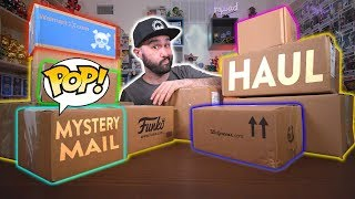 Huge Funko Pop Mystery Mail Haul Unboxing!