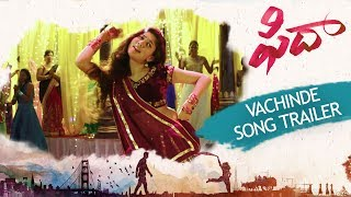Checkout sekhar kammula's #fidaa vachinde song trailer featuring varun tej & sai pallavi movie - fidaa directed by kammula starring: p...
