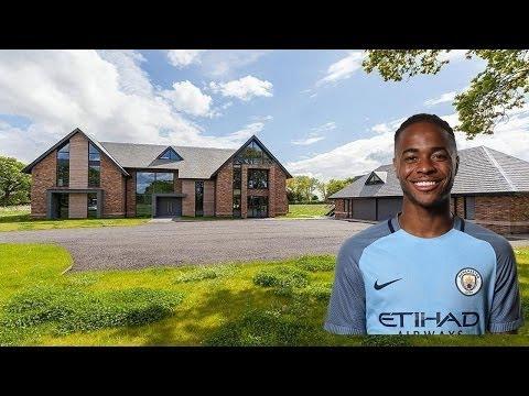 Raheem Sterling's New £ 3 M Cheshire House.