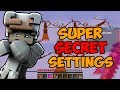 SO Bedwars spielen?! Super Secret Settings Challenge  | Minimichecker Bedwars
