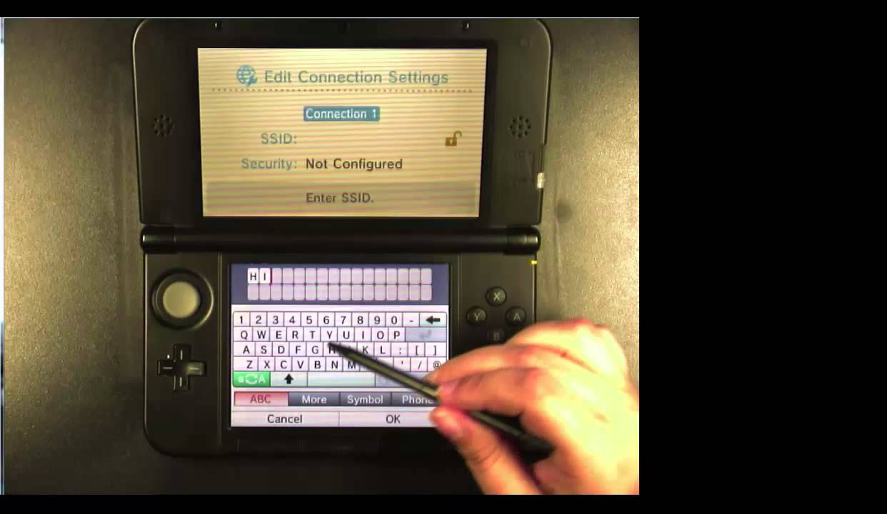 How to Connect to Public Wi-Fi Nintendo 3DS - YouTube