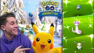 THE BIGGEST EVENT IN POKÉMON GO HISTORY! December Community Day INSANITY