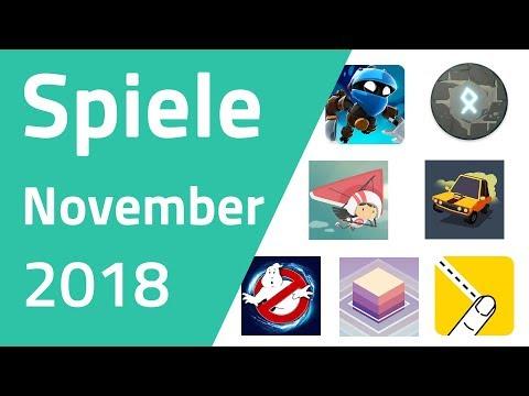 Top Spiele für Android & iOS - November 2018