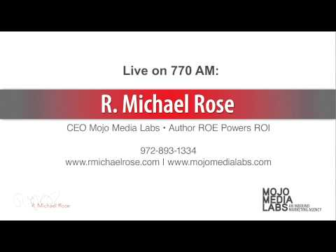 R. Michael Rose on the radio in Garland 5/14/14