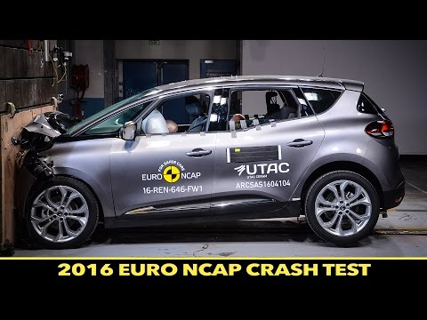 Euro NCAP Crash Test of Renault Scenic 2016 - ★★★★★