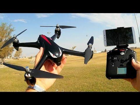 MJX Bugs 2W B2W High Speed GPS FPV Drone Flight Test Review