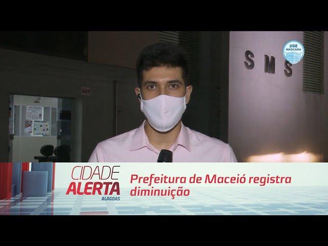 Prefeitura de Maceió registra diminuição de procura em unidades para coronavírus