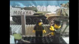 Lego WW2 Battle of Moscow part2 (Лего ВОВ Битва за Москву часть2)