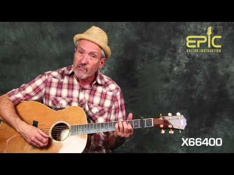 Learn George Strait Troubadour easy classic country guitar song lesson with chords strum patterns