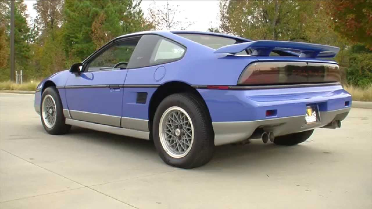 134933 1987 Pontiac Fiero GT