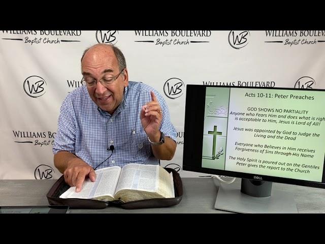 WBBC Byron's Bible Fellowship July 18, 2021