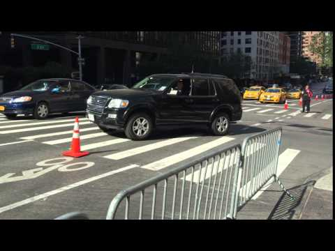 UNITED STATES SECRET SERVICE UNIT TAKING UP ON EAST SIDE OF DURING UNITED NATIONS MEETINGS.