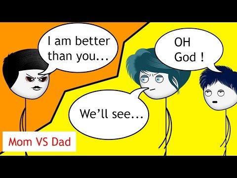 When a Gamers Mom and Dad fights over a game