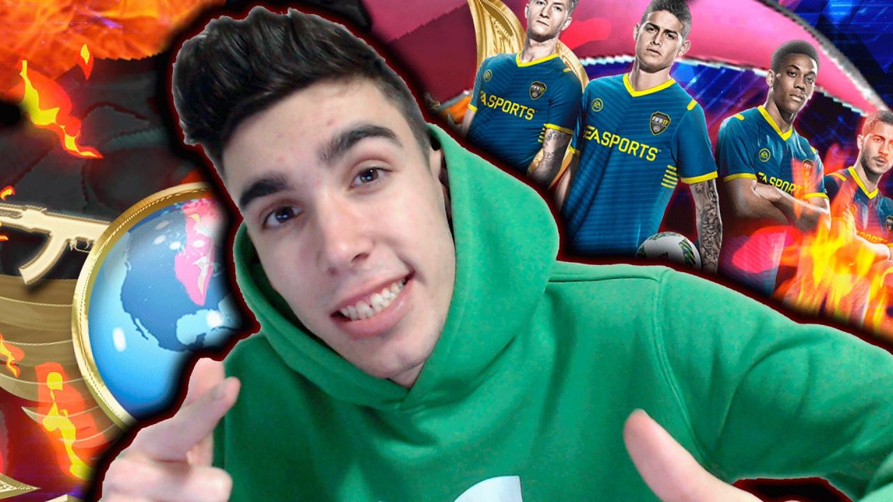 LIVESTREAM | FIZ A MELHOR TRADE NO FIFA 17 & CSGO COMPS ...