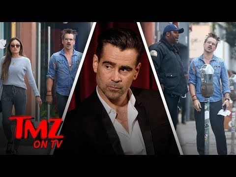 Colin Farrell Lunch Date Ends With A Ticket  TMZ TV