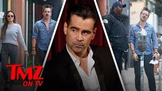 Colin Farrell Lunch Date Ends With A Ticket | TMZ TV