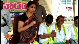 Collector Sweta Mohanty participated in Haritha Haram | Wanaparthy District | CVR News