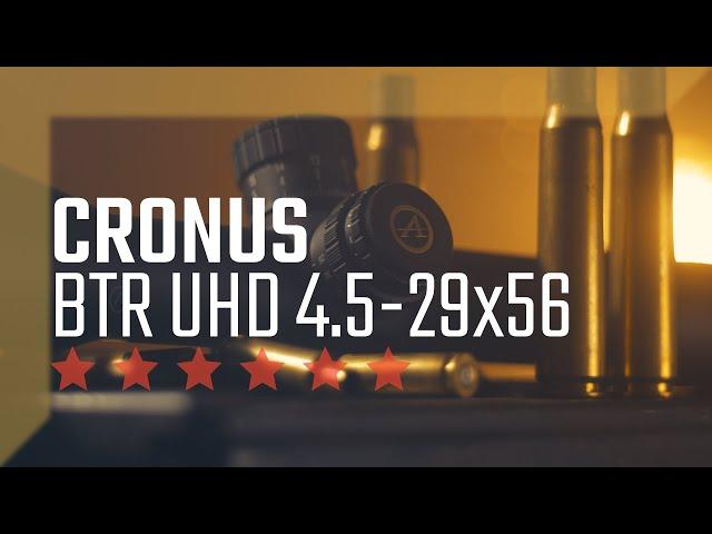 Cronus BTR UHD 4.5-29x56 from Athlon Optics