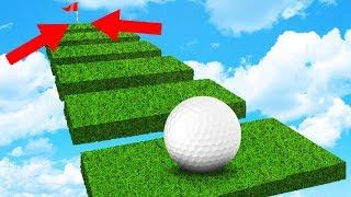 СУПЕР 99% СЛОЖНЫЙ УДАР В ЛУНКУ НА БОЛЬШОМ РАССТОЯНИИ ЧЕРЕЗ ПЛАТФОРМЫ В ГОЛЬФ ИТ (Golf It)