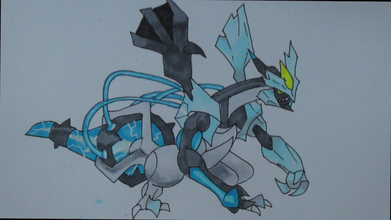Pokemon Kyurem Drawing Images | Pokemon Images