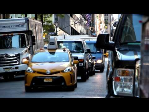 Canon Rebel SL1, 1080p short test in NYC. (Time Lapses).