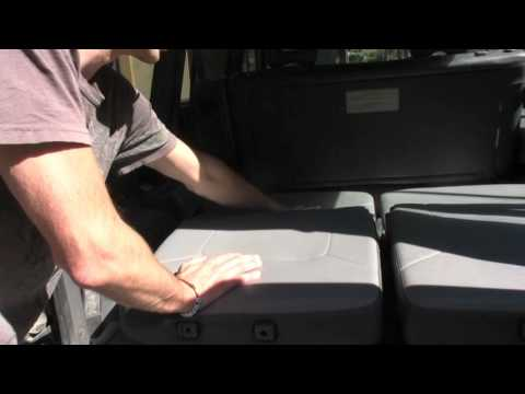 Recline Mitsubishi Montero Seats into a Bed [How To]