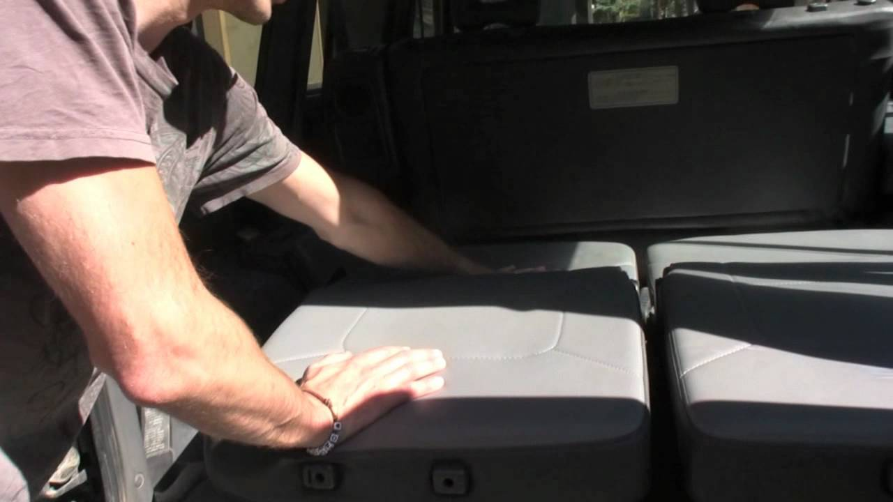 Recline Mitsubishi Montero Seats Into A Bed How To Youtube