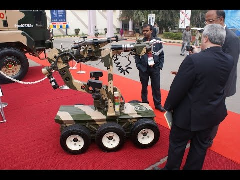 Daksh robot, India's First Remotely Operated Vehicle to Indian Army