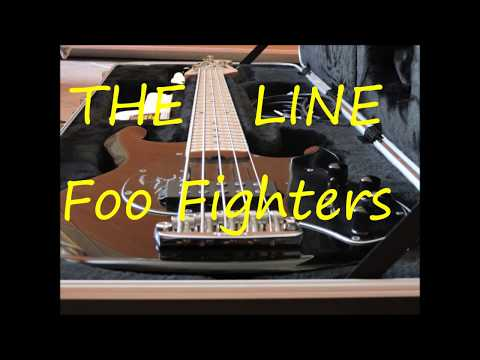 The line Foo Fighters bass lesson cover