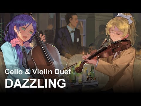 Dazzling | Duet For Cello And Violin | Beautiful, Relaxing OST (Original Composition)