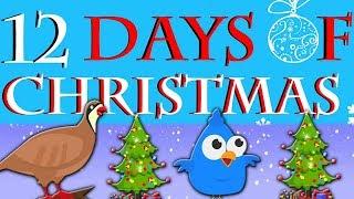 Двенадцать дней Рождества   рождественские гимны для детей   Twelve Days of Christmas   Kids Songs