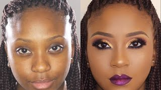 Bare to Glam Total Makeover | Makeup Transformation 5 •| Poised by Suliat