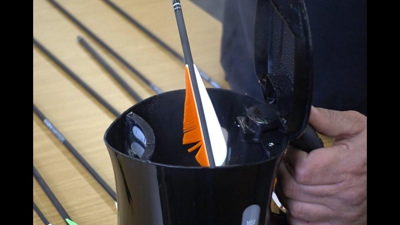 Bogensport Tipps und Tricks   Befiederung reparieren