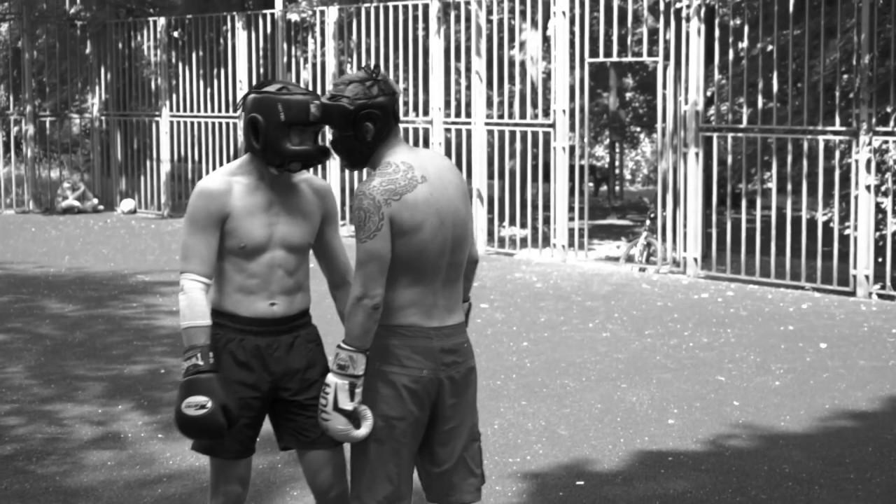 Outdoor-тренировка по боксу. Мотивация