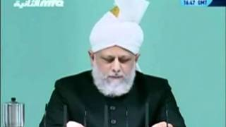 Проповедь Хазрата Мирзы Масрура Ахмада (01-10-2010)clip-10.flv