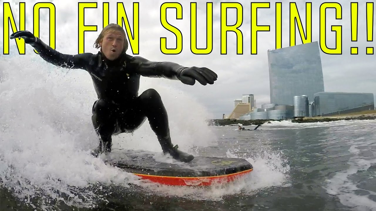 FUN WITH NO FINS IN NEW JERSEY!