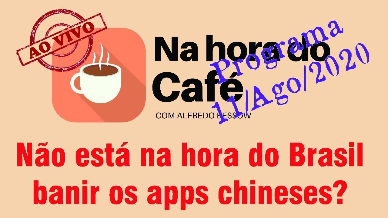 Na hora do café - O mundo civilizado foge dos apps xinguilingui