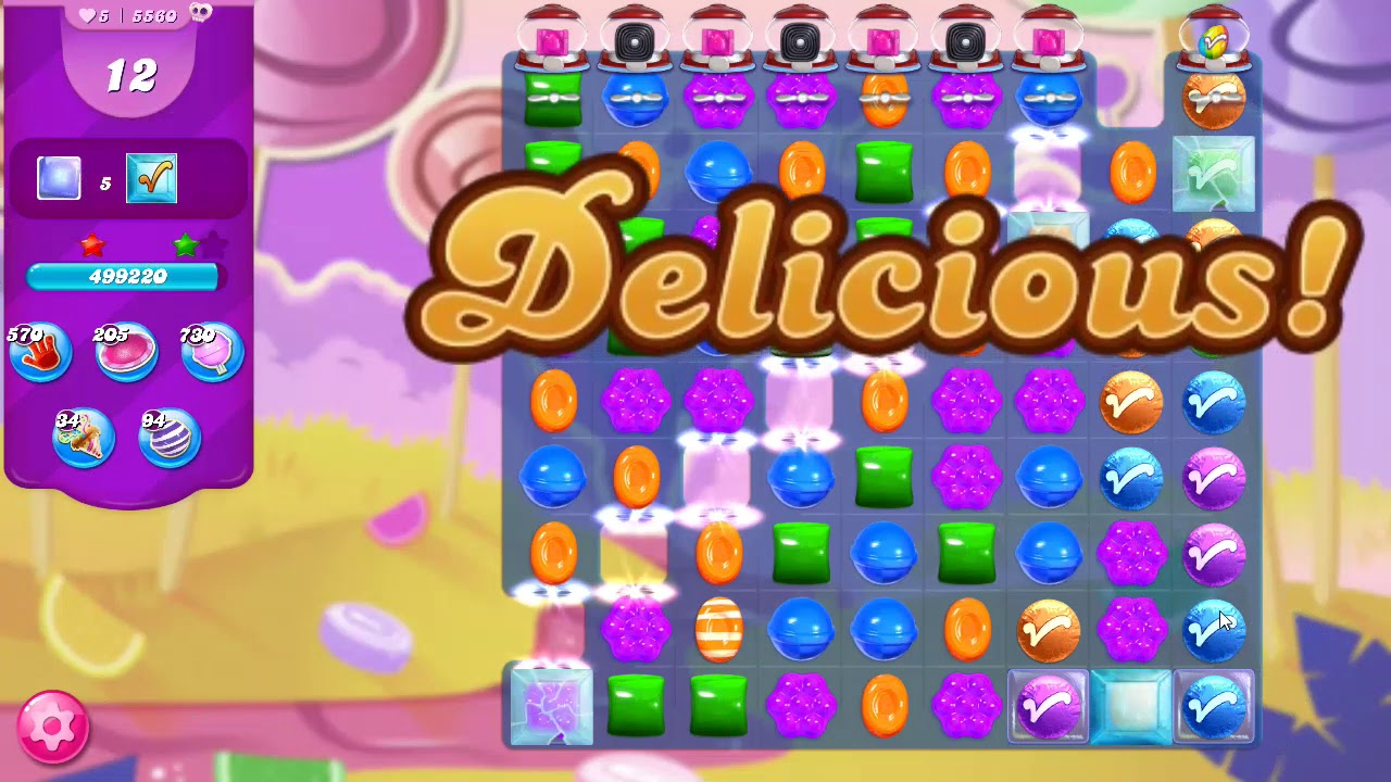 Download Candy Crush Saga Level 5560 NO BOOSTERS