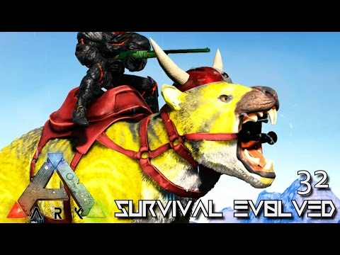 ARK: SURVIVAL EVOLVED - NEW PRIMAL THYLACOLEO TAMING !!! E32 (MODDED ARK PUGNACIA DINOS)
