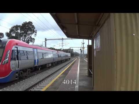 Train Spotting - 28/08/2015 - Mile End (Adelaide)