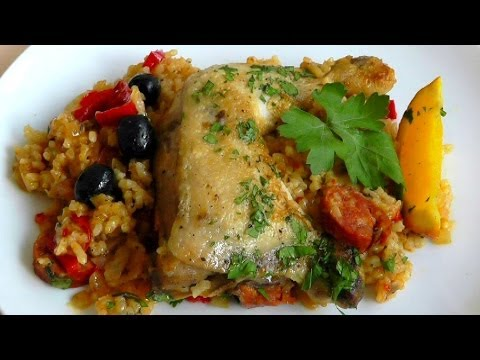 How to make Basque Chicken Recipe One Pot dish