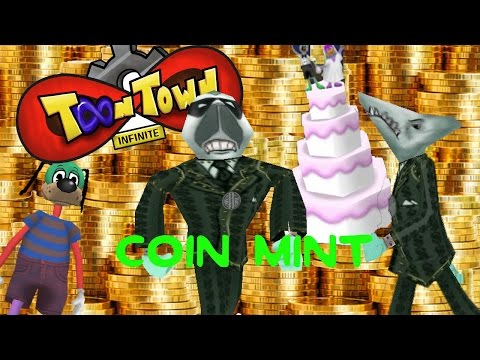 Toontown Infinite Beta Gameplay- Coin Mint + Level 7 WASTED