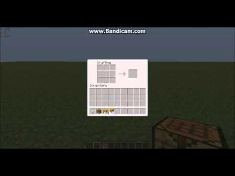how to make wood planks in minecraft