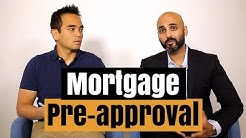 How to get pre-approved for a mortgage in Canada
