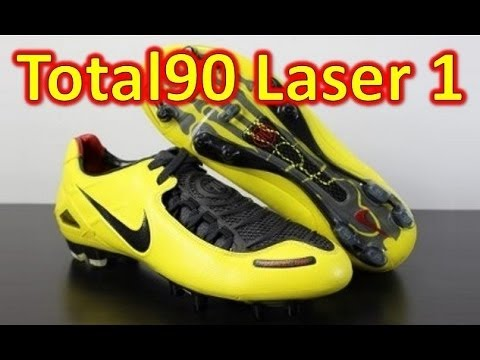 separation shoes 37c5e 5158c Nike Total 90 Laser 1 Zest Yellow - Retro Unboxing + On Feet - YouTube